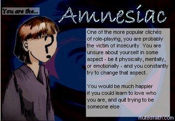 Skyler is an Amnesiac!
