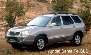 [If I were an SUV, I would be Hyundai Santa Fe GLS]
